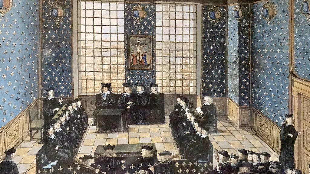 Processo a Fouquet 1661