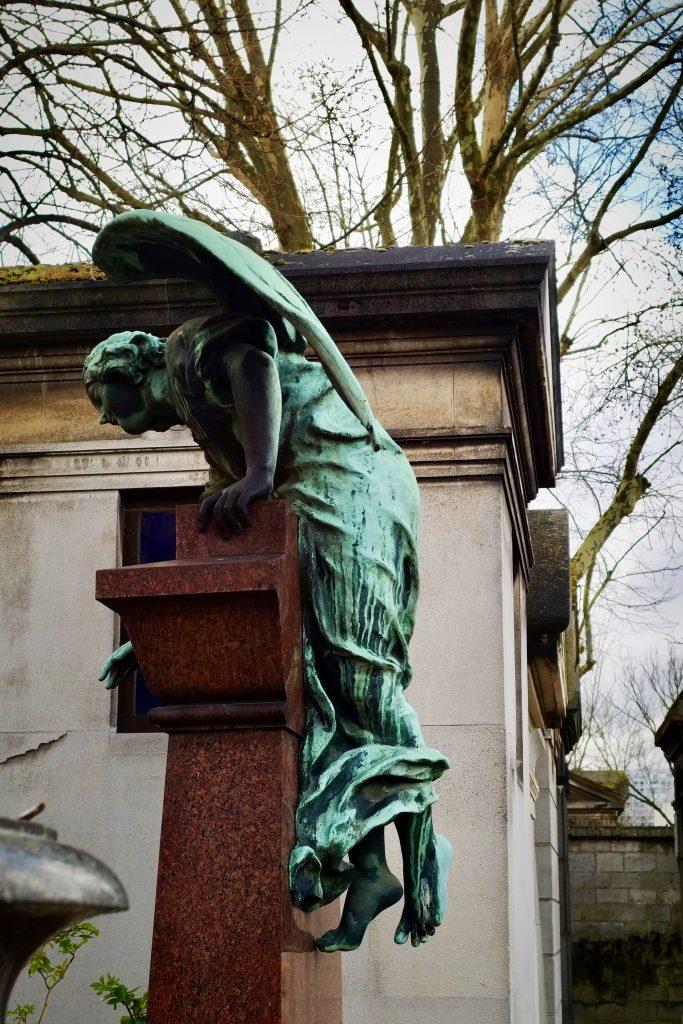 Angelo cimitero di Montparnasse