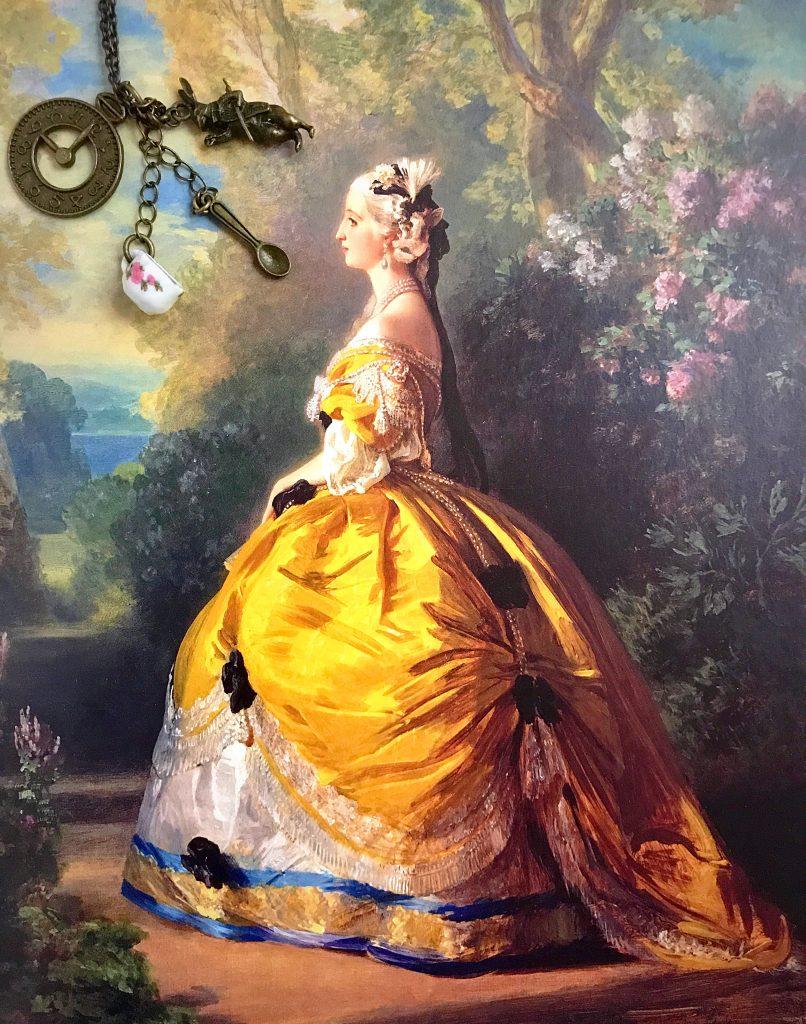 L'imperatrice Eugénie in costume del XVIII secolo, 1854.