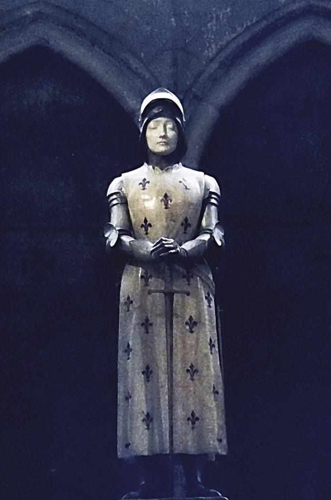 Prospere d'Épinay, Jeanne d'Arc