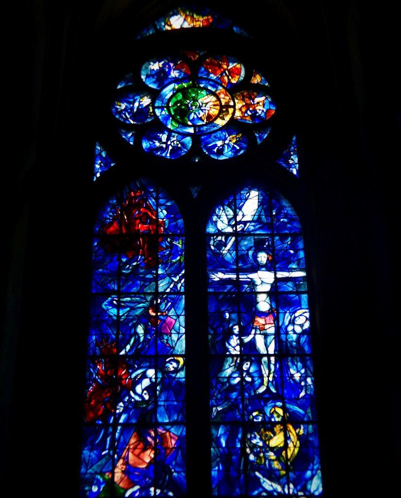 Vetrata di Chagall