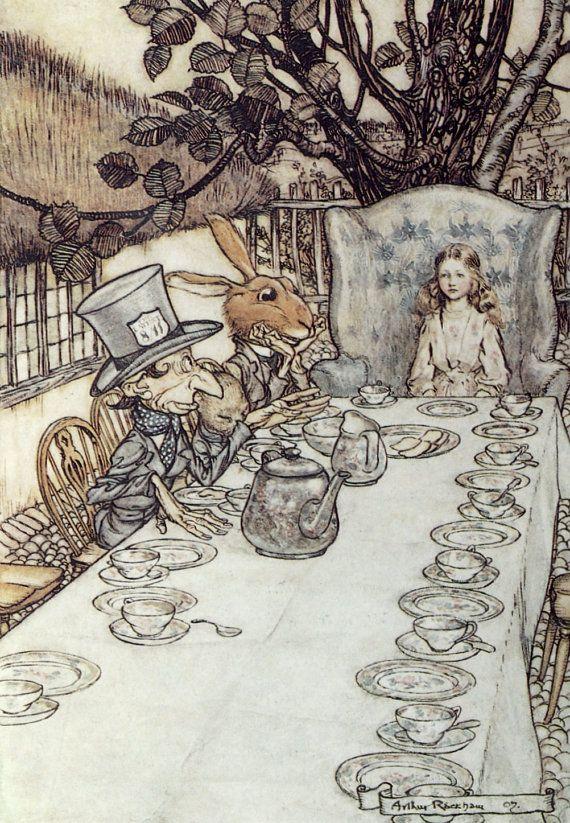 Cappellaio lepre e Alice