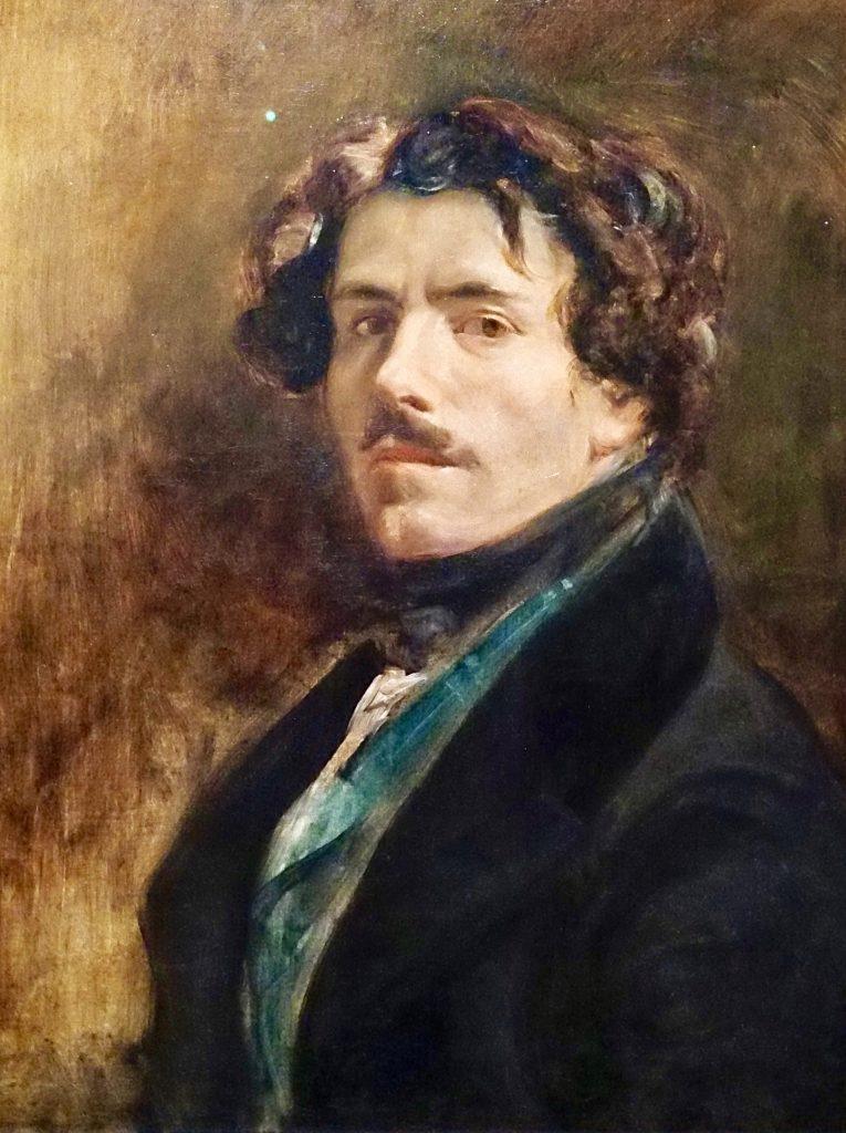 Delacroix autoritratto