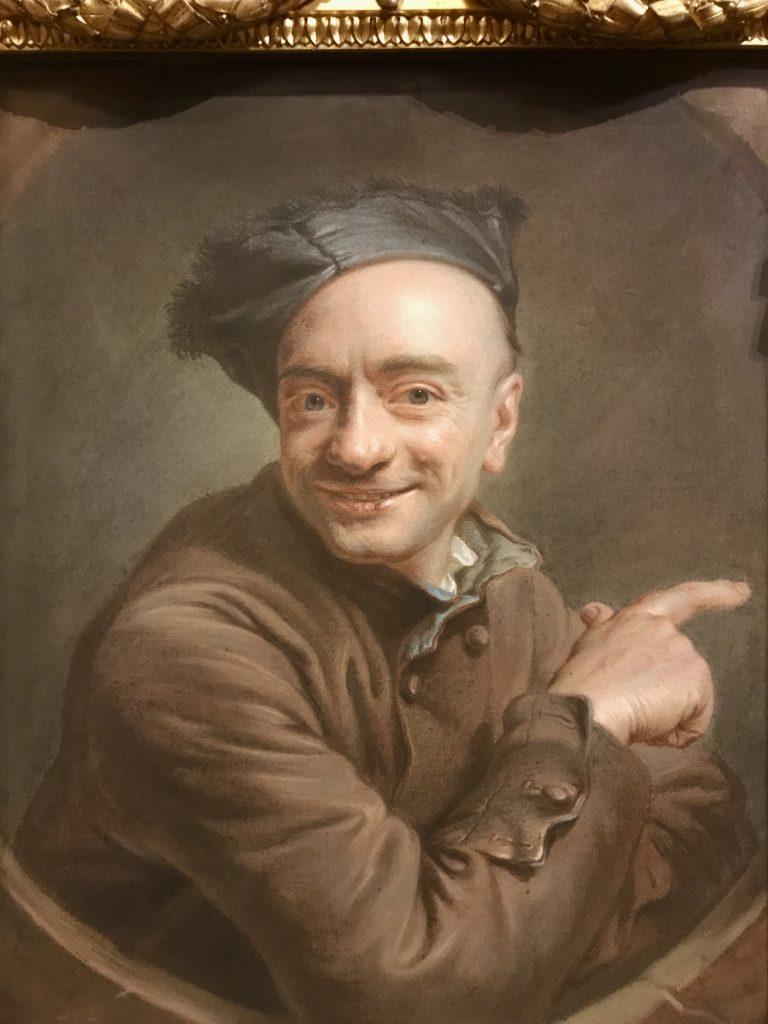 Maurice Quentin de La Tour autoritratto
