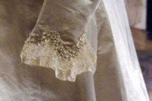 Abito da sposa 1900 dettaglio