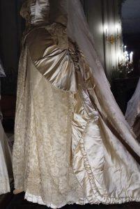 Retro abito da sposa 1885