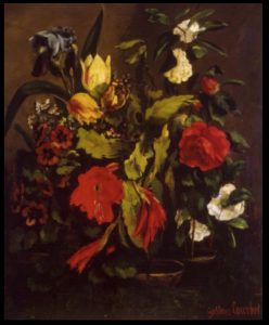 Fleurs, Gustave Courbet