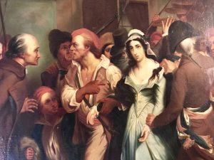Arresto di Charlotte Corday