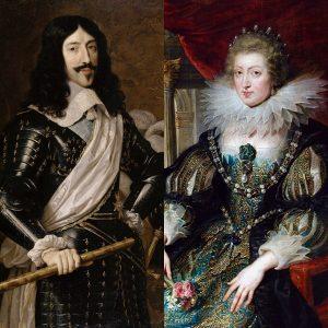 Louis XIII e Anna d'Austria