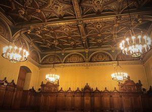 Sala del tribunale Grande Chambre