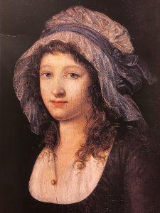 Ritratto di Charlotte Corday (1768-1793), Scuola francese (XVIII secolo)