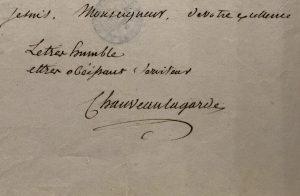 Firma di Chauveau-Lagarde