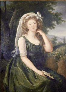 Madame du barry Vigee Lebrun