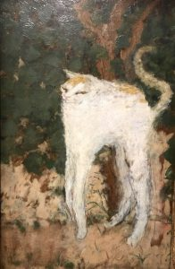 Pierre Bonnard Le chat blanc 1894