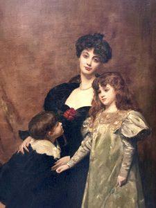 Carolus Duran, Madame Feydeau e i suoi Bambini
