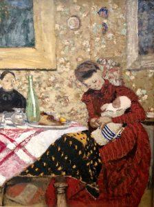 Edouard_Vuillard_LeDejeunerHessel_1899