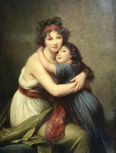 Le stesse tre anni dopo (1789): l'affetto pare non essere mutato, anzi.