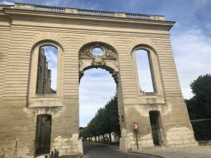 Ingresso monumentale Chantilly (XVIII secolo)
