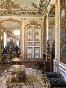 Dettaglio della Galleria delle gesta del Grand Condé