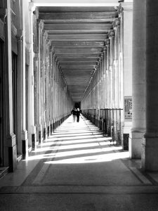 Le gallerie di Palais-Royal oggi