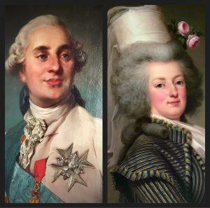 Marie-Antoinette e Louis XVI