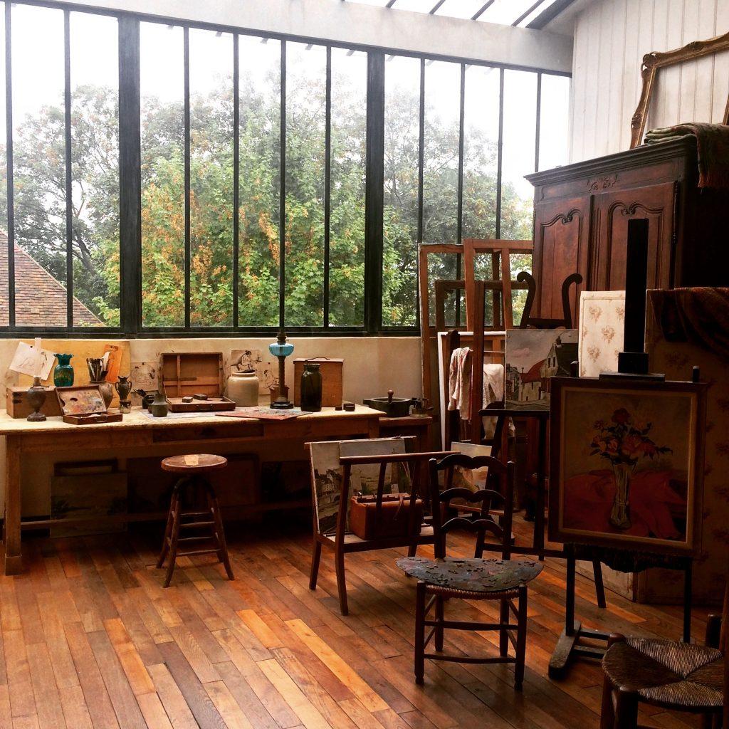 L'atelier di rue Cortot oggi interno