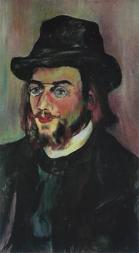 Erik Satie dipinto da Suzanne.