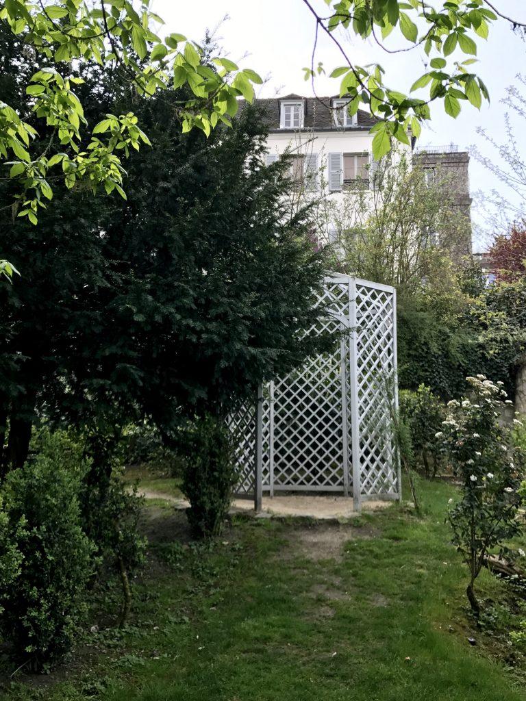 Giardino rue Cortot oggi