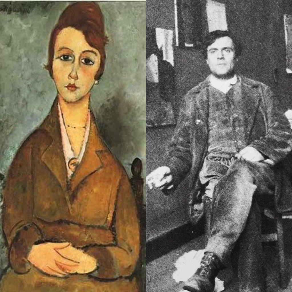 Modigliani ritrae Suzanne