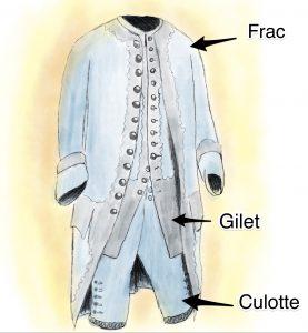 Abito uomo Louis XV