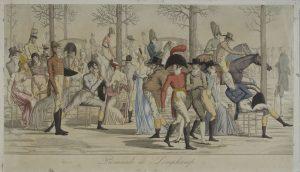 Carle Vernet, Promenade de Longchamp, 1803