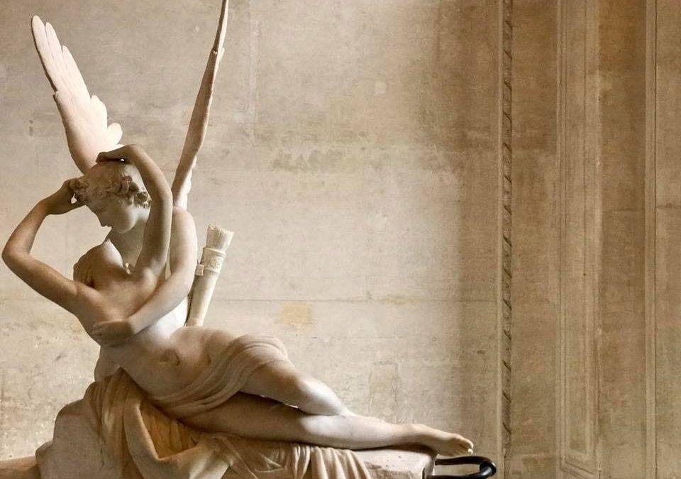 Amore e Psiche, 1792 circa, Antonio Canova, Musée du Louvre