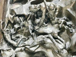 Porta Inferno Rodin Dettaglio