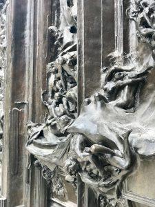 Porta Inferno Rodin Dettaglio2