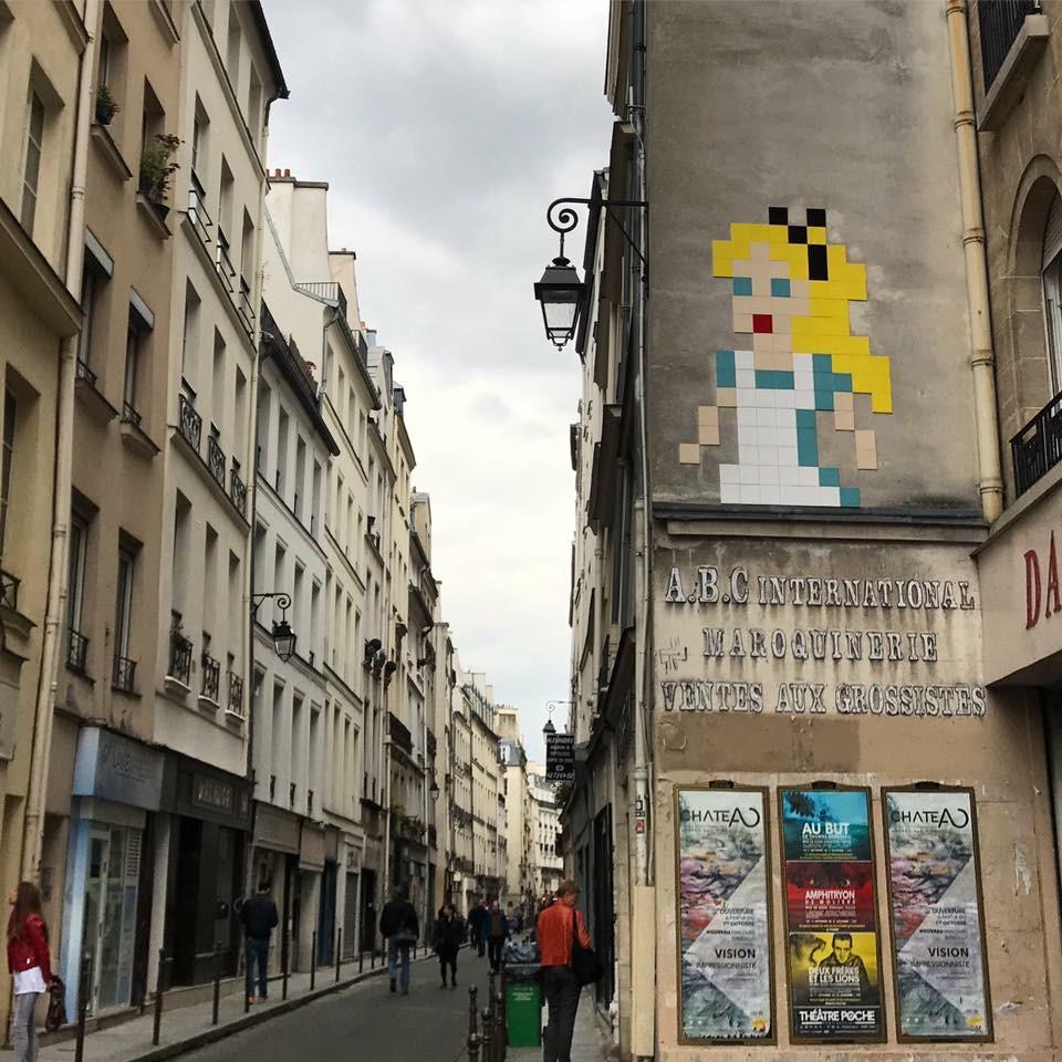 Rue Princesse Invader