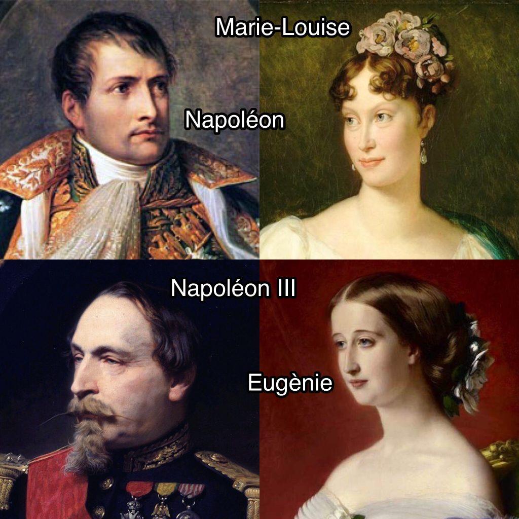 Coppie imperiali a Compiègne