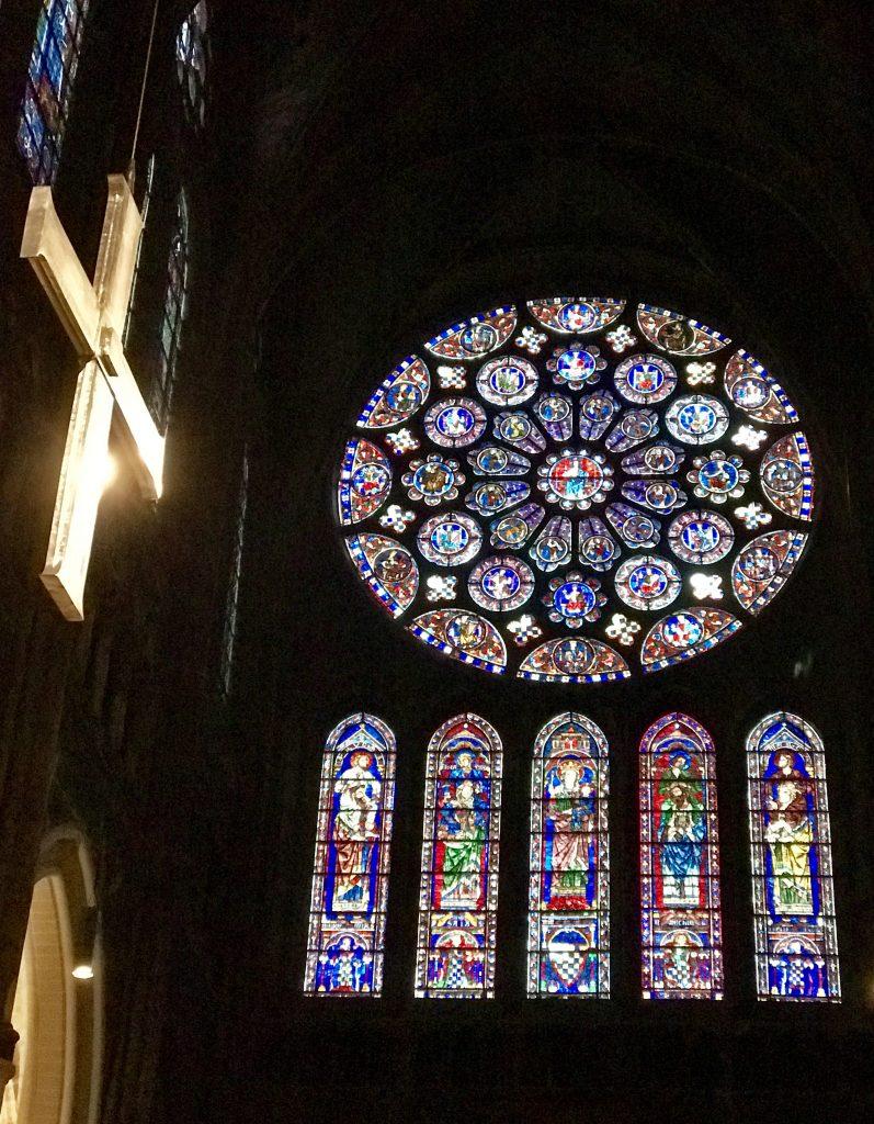 Chartres rosone