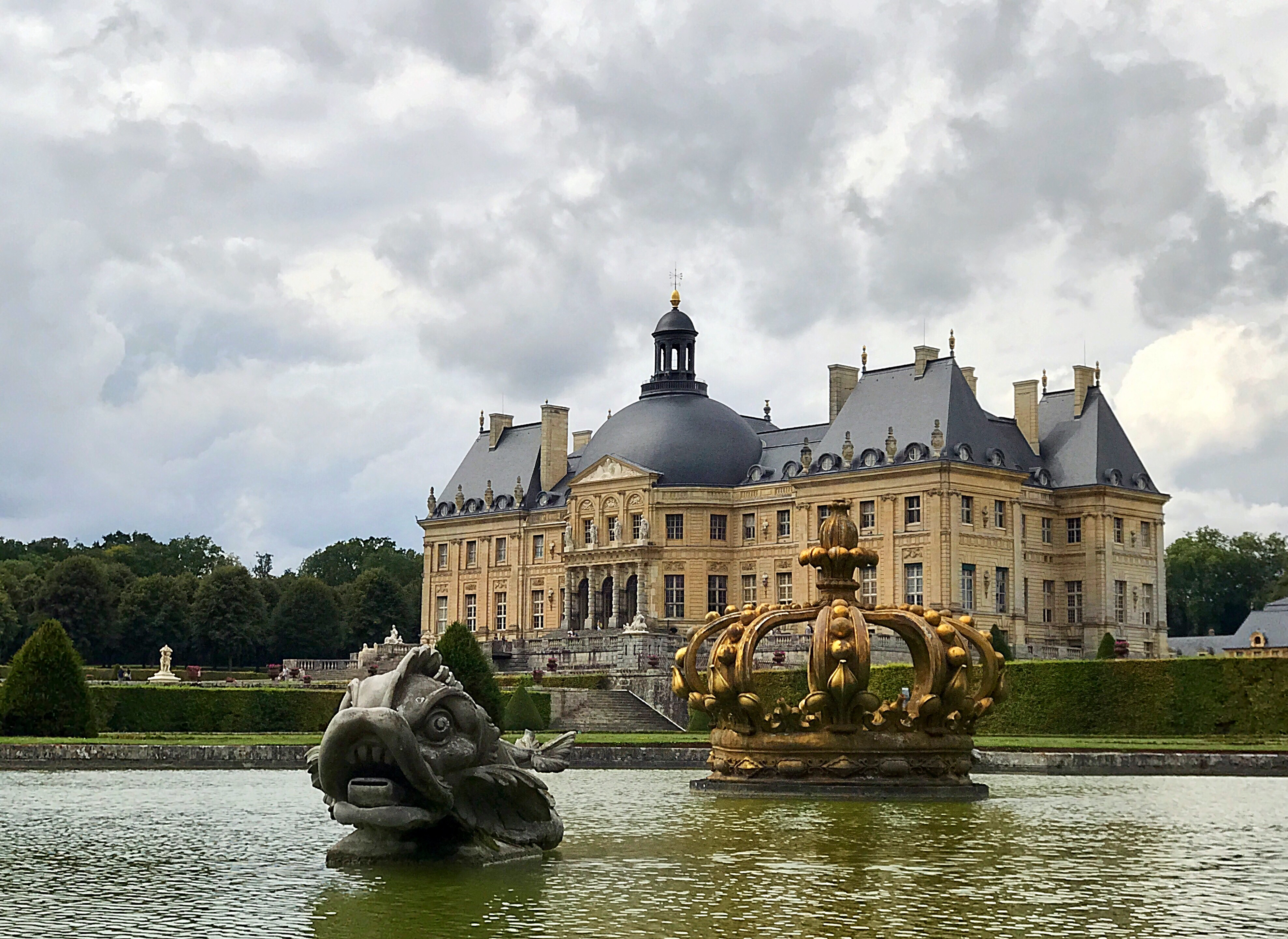 Chateau di Vaux-Le-Vicomte