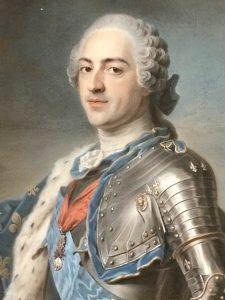 Maurice Quentin de La Tour_Louis XV