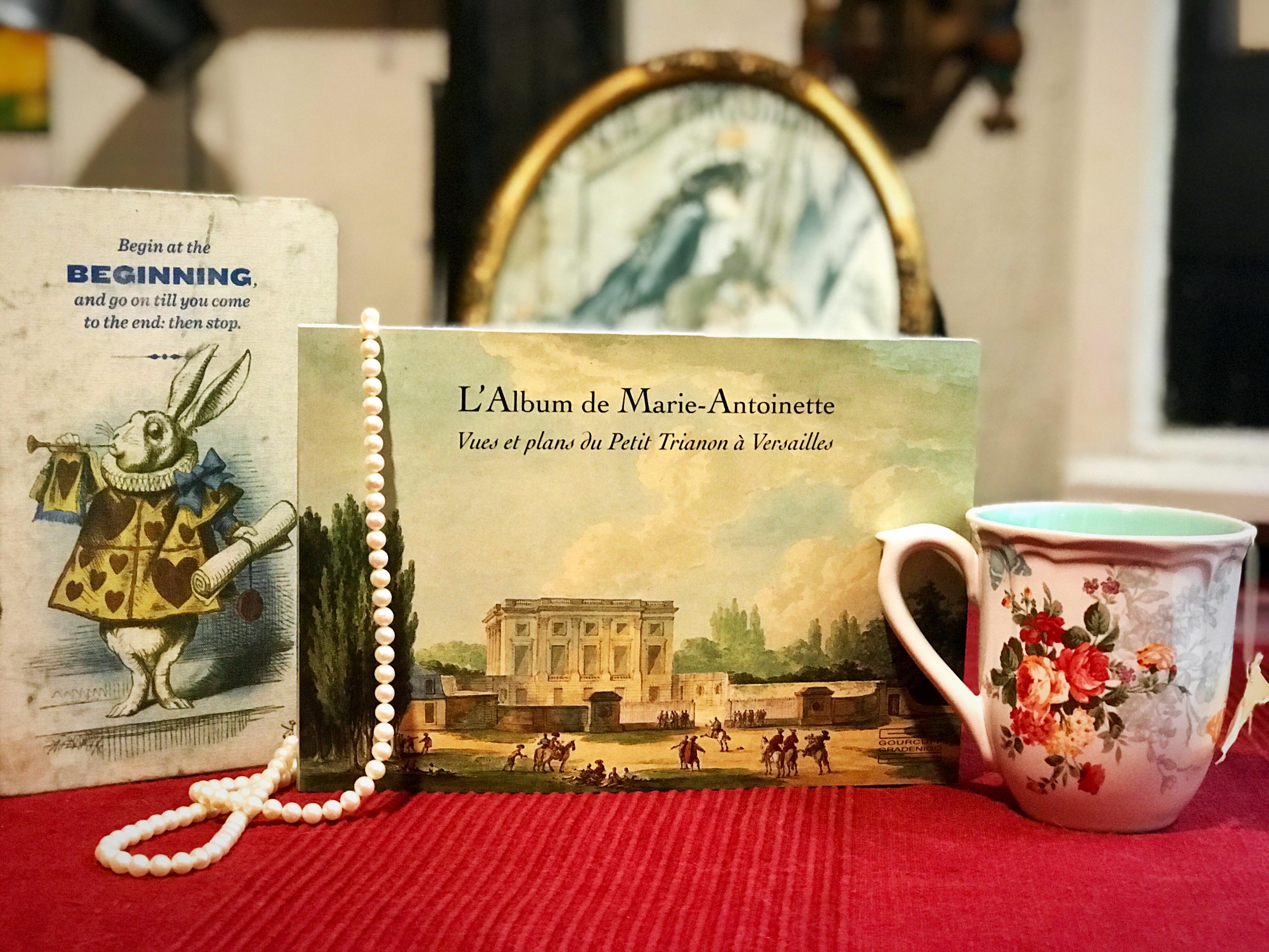 Lettura Marie-Antoinette Trianon