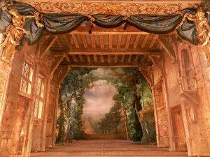 Teatro Marie-Antoinette scenografia