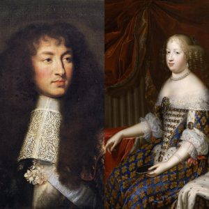 Louis XIV e Marie-Therese