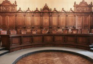 Sala Grande del Palazzo di giustizia