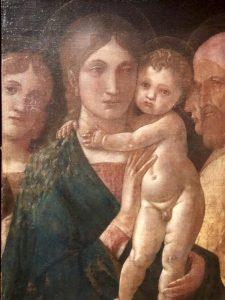 AndreaMantegna_VergineConBambinoCircondataDaTreSanti_1485