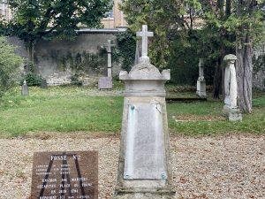 Cimitero storico di Picpus - le fosse comuni.
