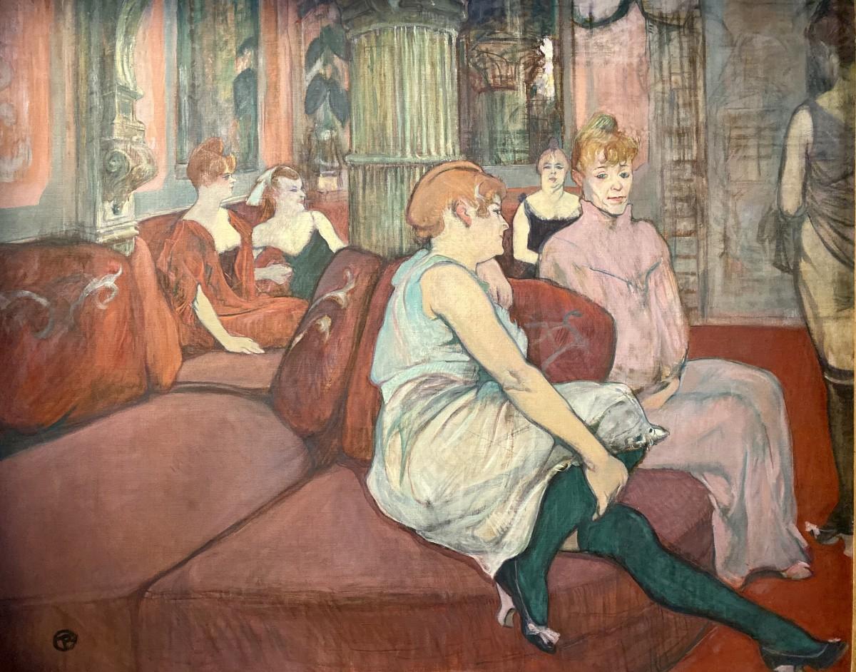 AlSalonDiRueDesMoulins–1894_Albi_MuseeToulouseLautrec