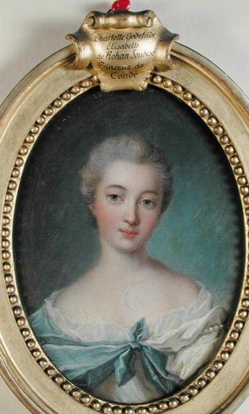 Charlotte Elisabeth Godefred de Rohan Soubise, princesse de Conde