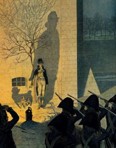 L'esecuzione del duca d'Enghien (image from Le Parisien).