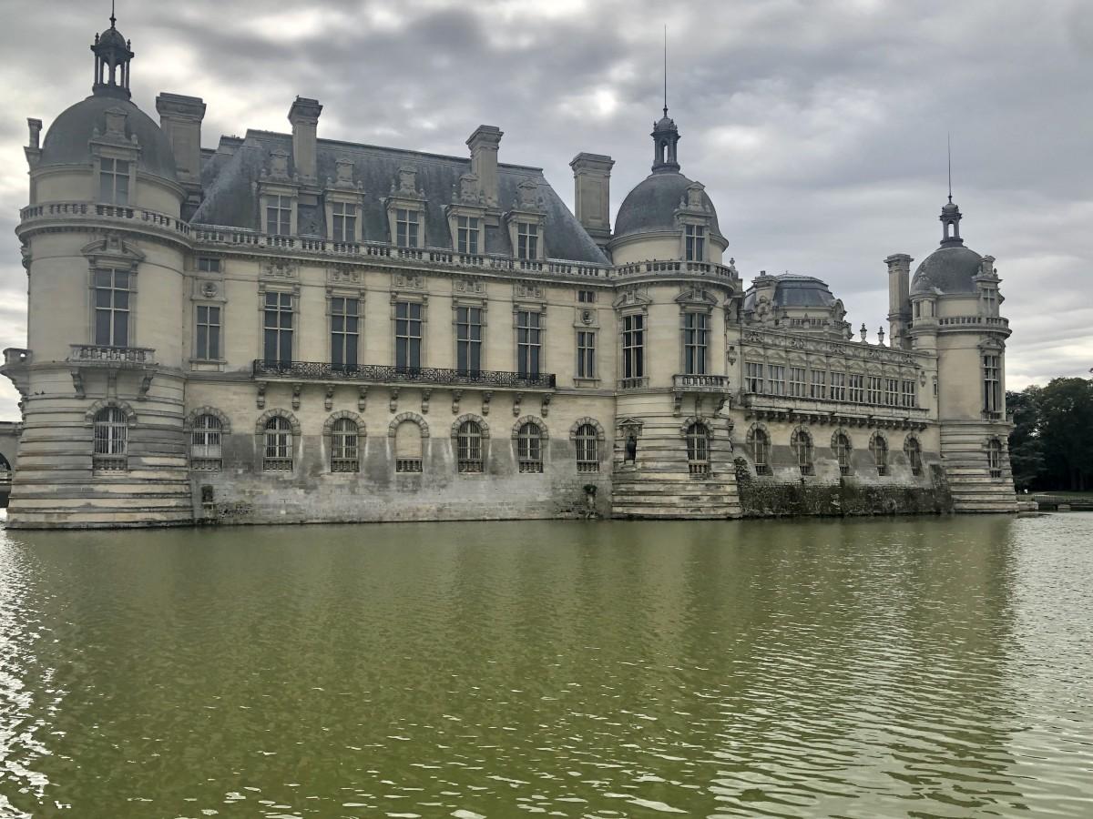 Chantilly, facciata settentrionale