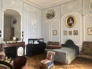 Camera del duca d'Aumale, Petit Château, Chantilly.